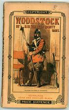 1868 - Walter Scott -  Woodstock
