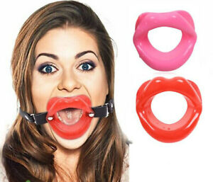 Sexy Oral Open Mouth Toys Bondage Lips O Ring Restrait Open Mouth Gag 4 Colours
