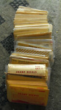 Large Lot of 87 Vintage Mostly O Scale New and Used Train Car Decals Champ