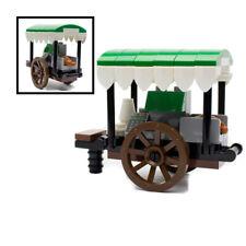 LEGO Coffee Cart Stall Market Shop for Minifigures City Barista Food Wagon