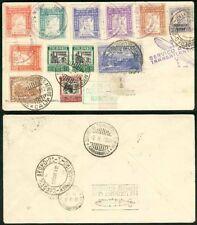 Colombia-Brazil 1932 Zeppelin cover/Ribon Locals (x6)!