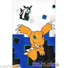 DIGIMON PAPER TABLE COVER ~ Birthday Party Supplies Decorations Cartoon Cloth