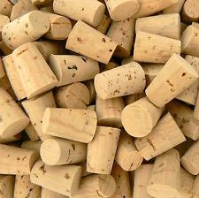 10 Premium Corks (Size 1) Natural caps/plugs/tiny/little/small/miniature/bottles