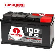 Autobatterie 12V 100Ah +30% mehr Power Starterbatterie 88Ah 90Ah 92Ah 95Ah