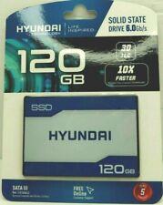 "New Hyundai 120GB Internal SSD SATA III TLC 2.5"", 5 years Warranty"