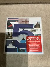 Simple Minds 5 Cd Box Set. New Sealed.
