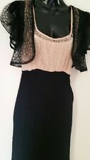 Vintage 1920s Art Deco Stunning Chantilly Lace Dress and Matching Jacket