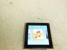"""Apple iPod nano A1366 8GB 6th Generation 1.54"""" Multi-touch Clip (Gray)"""