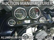 Motorcycle Bmw K 1200 GT RS Cerclages De Compteur Aluminium Anneaux Chrome x4