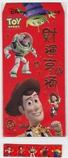 5 Collectibles Toy Story Characters Lucky $ Envelopes, Gift Hongbao & Red Packet