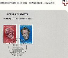 Gestempelte schweizer Briefmarken (ab 1945)