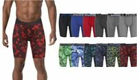 4 Pack Men's Russel Poly Performance Dri-Fit Stretch Boxer Brief Assorted Colors