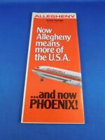 Buy 4 6031 Allegheny Airlines system timetable 4//29//73 save 25/%