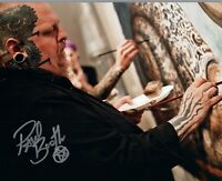 Paul Booth Signed Autographed 8x10 Photo Tattoo Artist COA VD