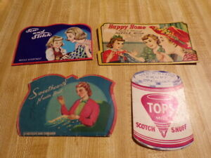 Lot of Vintage Sewing Needles Advertising Books