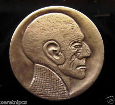 "Superior Hobo Nickel Carving   ""Jason's Uncle"""