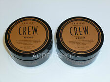 American Crew Pomade Medium Hold 3 oz each ( 2 pack)