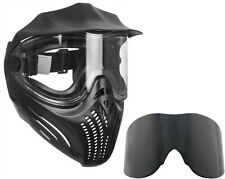Empire Helix paintball Mask/Goggles - Black + Ninja Thermal replacement lens