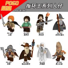 8PCS The Lord of the Rings Legolas Samwise Aragorn II Gandalf Spielzeug Figur