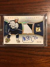2005-06 Ultimate Collection Endorsed Emblems Martin St. Louis 15/35
