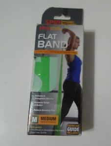 SPRI Flat Band, Medium Resistance, Green Brand New