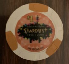 New listing Las Vegas Stardust Casino $1 Chip — Uncirculated Combining Ship 50% Off