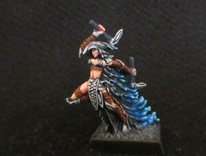 Reaper Miniatures,Darkshade Raider, Dark Elf  (Metal) Painted D&D,Dark Sword