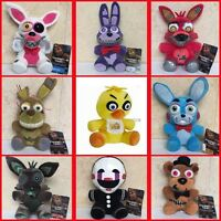 "7"" Five Nights at Freddy's 4 FNAF Horror Game Plush Dolls Kids Plushie Toys Gift"