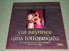 "SOLOMON AND SHEBA (EX) 1959 Soundtrack (NM) 12"" United Artists LP UAL4051"