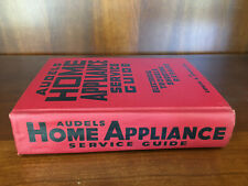 Audels Home Appliance Service Guide Electrical Trouble Shooting Repairs - 1958