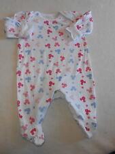 Girls Babygrows 0-3 Months - Pretty Disney Baby Grow Sleepsuit
