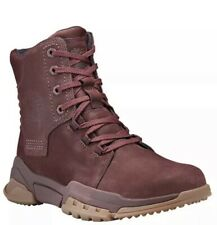 Timberland men's city force mid Boot Burgundy Size 10M New
