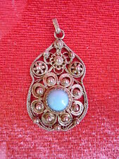 Fine, Ancient Pendants__SILVER__ with Turquoise __