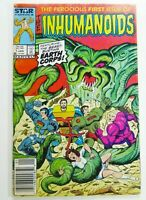MARVEL-STAR Comics INHUMANOIDS (1987) #1 NEWSSTAND Variant Ships FREE!