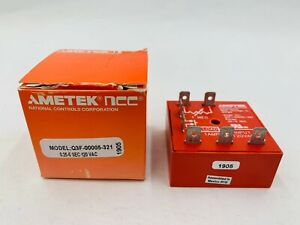 New Ametek NCC Q3F-00005-321 Timer Relay 0.25-5 Second Range