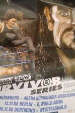WWE Survivor Series 2007 Revenge Tour DIN-A2 POSTER WWF Wrestling