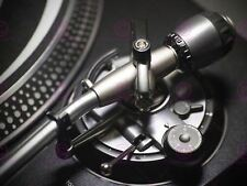 PHOTOGRAPH TECHNICS TURNTABLE RECORD PLAYER VINYL DJ CLOSE UP POSTER LV11095