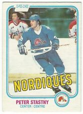 1981-82 OPC HOCKEY #269 PETER STASTNY ROOKIE - EXCELLENT-