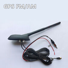 Car Roof Mount GPS FM/AM Aerial Antenna Signal Amplifier Radio Stereo Navigation