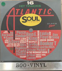 16 Hit Tracks Atlantic Soul Classics Vinyl Record LP WX105 1987 EX / EX