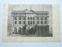 1885 Xilografía: Madrid Fachada del Nuevo Teatro de la Princesa inaugurado el 15