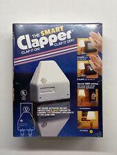 The Smart Clapper Clap It On! Clap It Off! Vintage 1992  NIB New Sealed Box!!