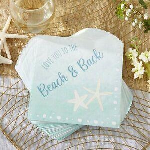 30 Beach Party Napkins - Blue Wedding Baby Bridal Shower Table Decor - MW37026