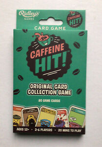 RIDLEYS GAMES Caffeine Hit Original Card Collection Game 2-6 players NEW
