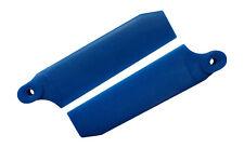 KBDD Pearl Blue 72.5mm W/ 5mm Root Extreme Tail Rotor Blades - Trex 500 #4032