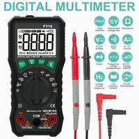 Digital Multimeter Auto Range AC DC Ammeter Voltmeter Ohmmeter LCD Tester USA
