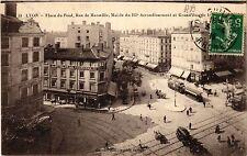 CPA LYON Place du Pont. Rue de Marseille, Mairie du Iie arr. (462944)