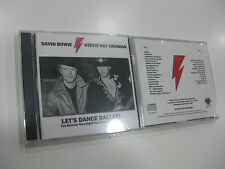 DAVID BOWIE & STEVIE RAY VAUGHAN 2 CD LET'S DANCE DALLAS 1983
