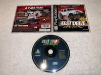 Test Drive Off-Road 2 (Sony PlayStation 1, 1997) PS1 Black Label Complete Exc!