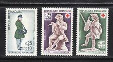 France 1967 SC# B 408 - B 410 - Three Different Stamps - M-NH Lot # 154